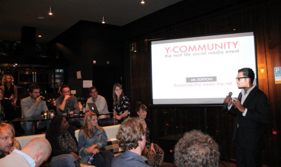 Y-Community #6: Sustainability meets the net