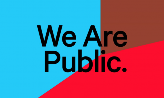 PR-campagne We Are Public