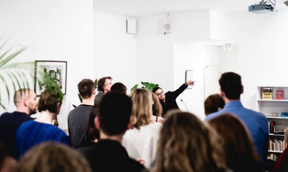 Opening Castrum Peregrini Co-working Space