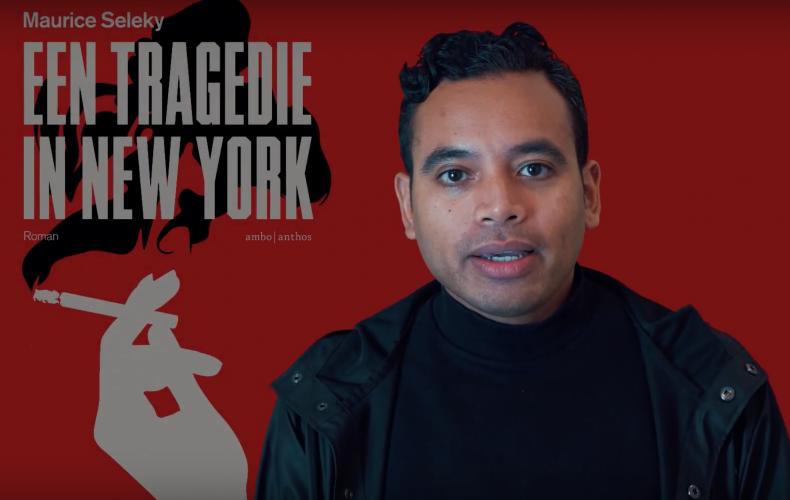 Boektrailer voor Een tragedie in New York