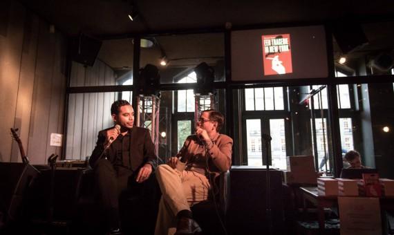 Amsterdamse boekpresentatie 'Een tragedie in New York'