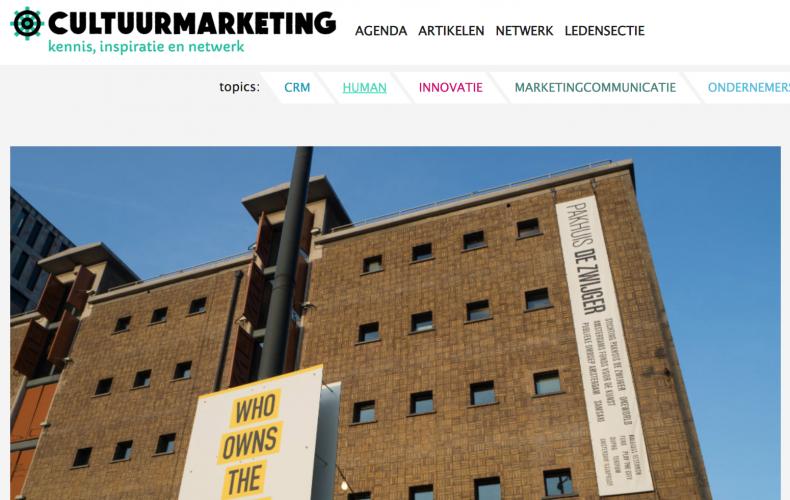 Interview met Cultuurmarketing