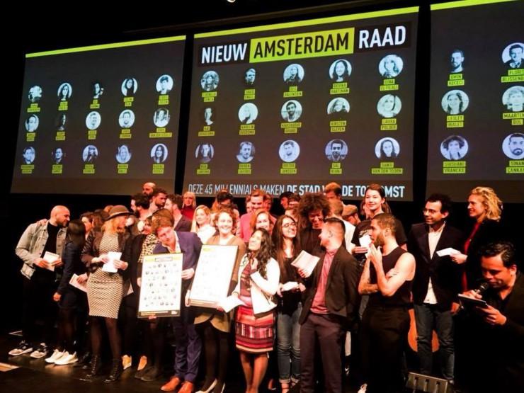 Lancering Nieuw Amsterdam Raad