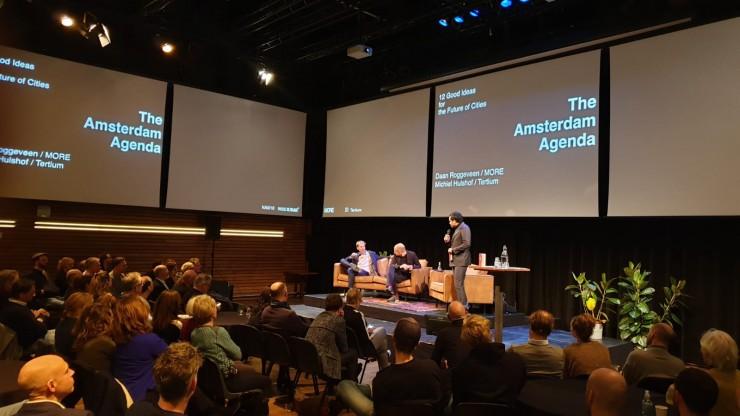 Boekpresentatie The Amsterdam Agenda