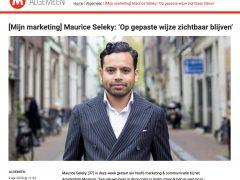 MarketingTribune interviewt Maurice Seleky