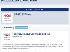 NOS Radio 1 Journaal interviewt Maurice Seleky